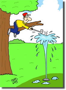 Sprinkler Cartoon
