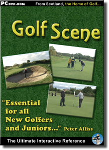 The Golf Scene DVD-ROM cover